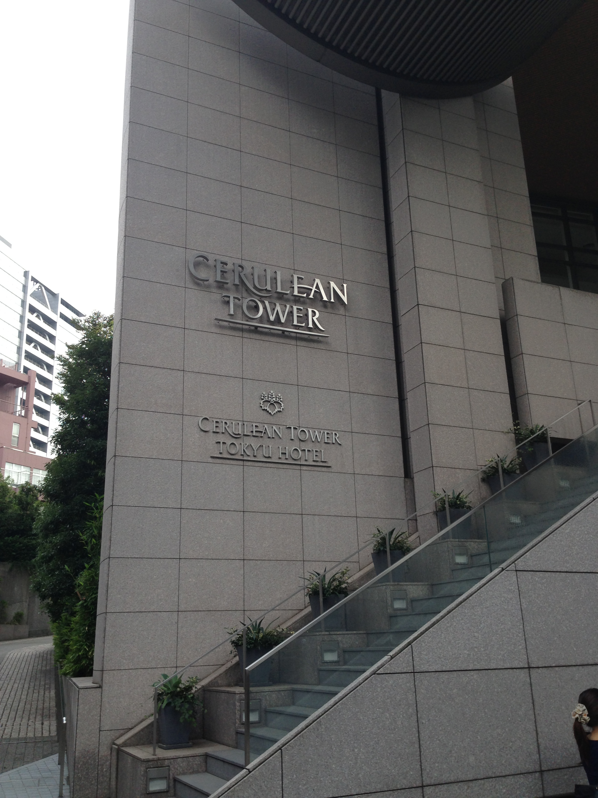 渋谷のセルリアンタワーでパートナー企業と打合せ