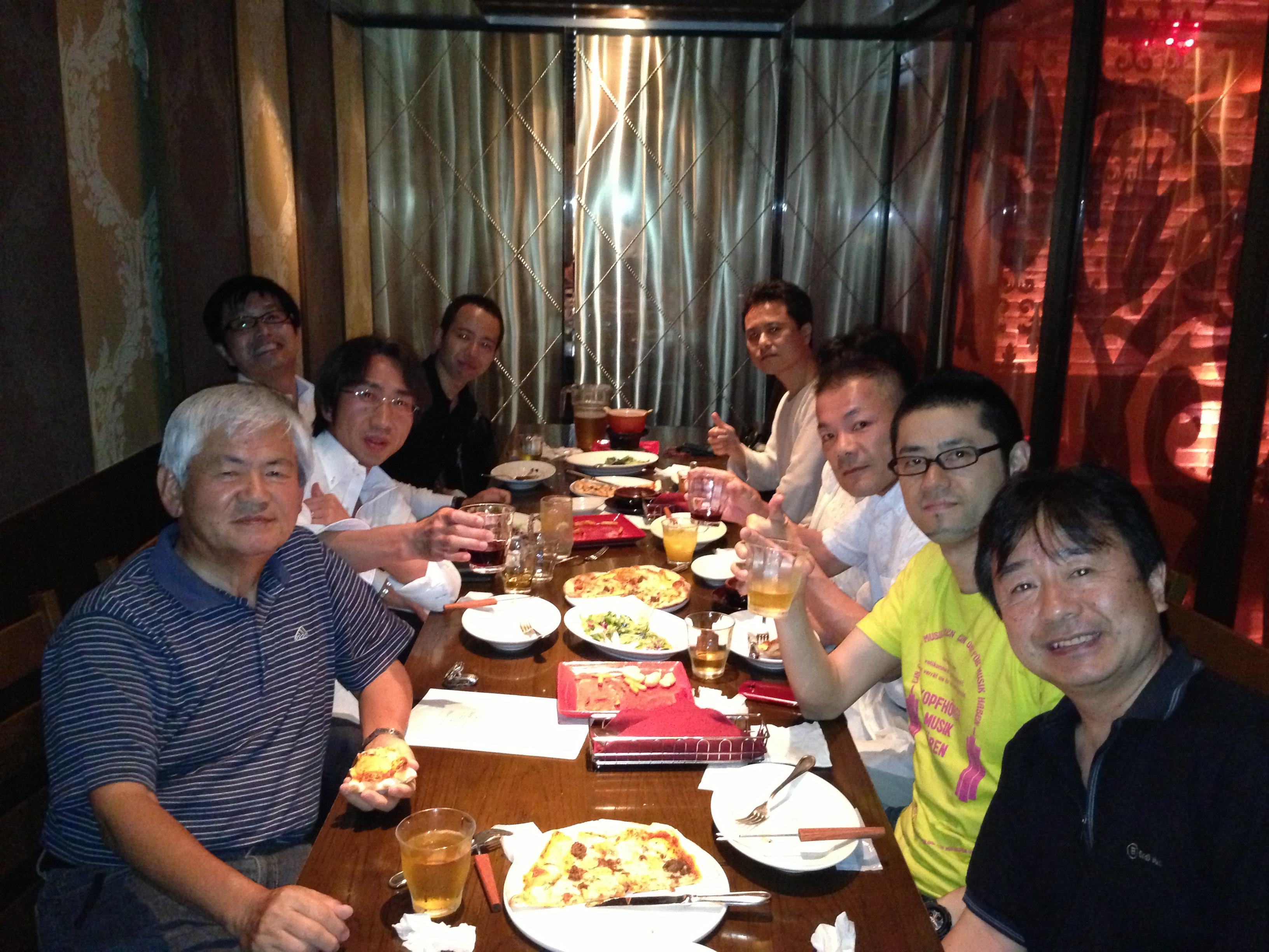 AWBM塾・第1期・3回目懇親会@渋谷の様子