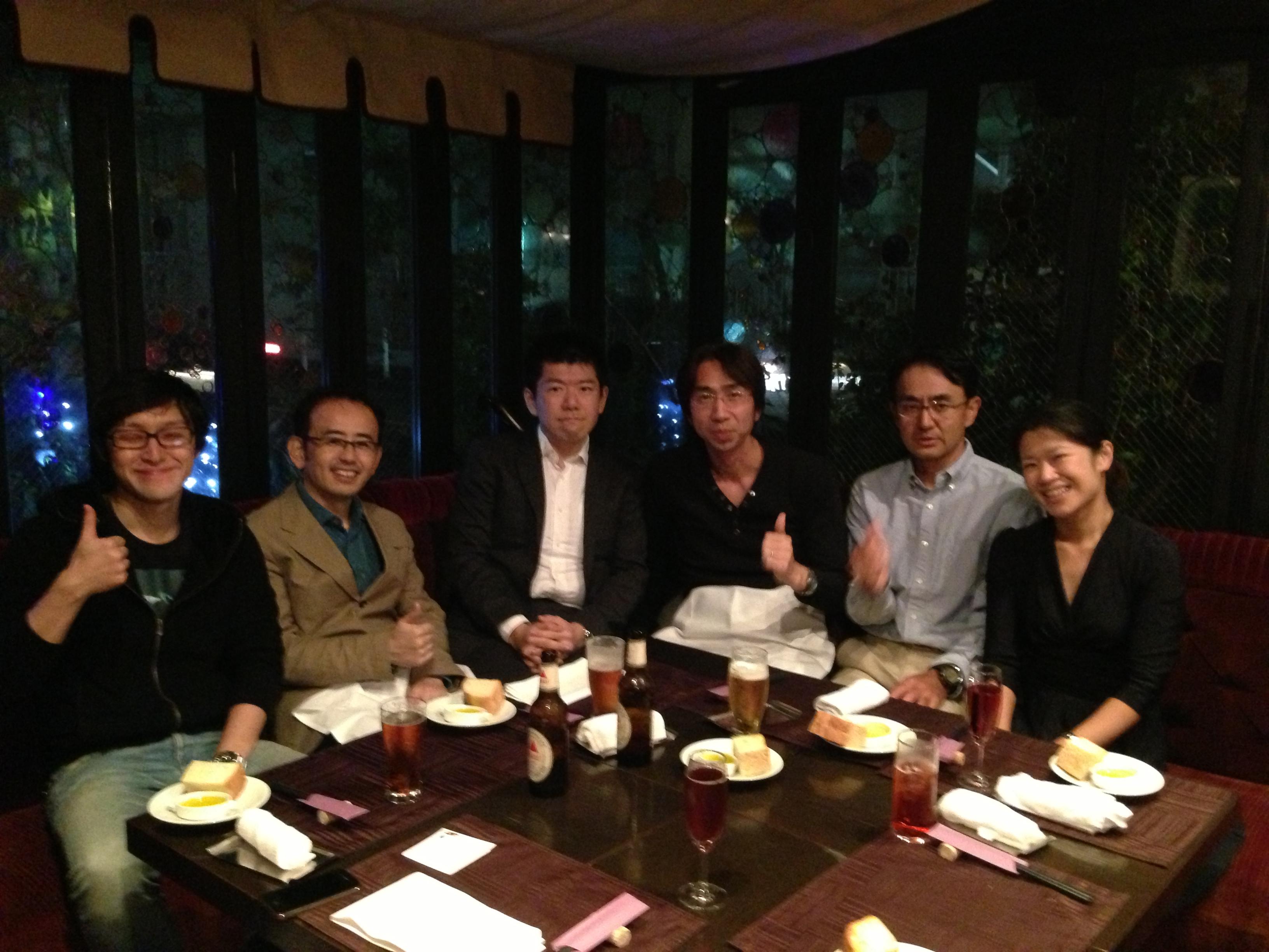 WordPressマスター塾第1期・先着5名特典食事会
