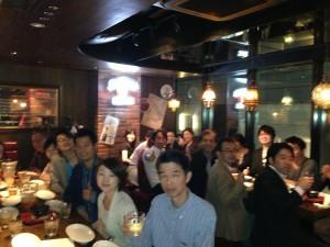 WordPressマスター塾・第1期・1回目セミナーの懇親会