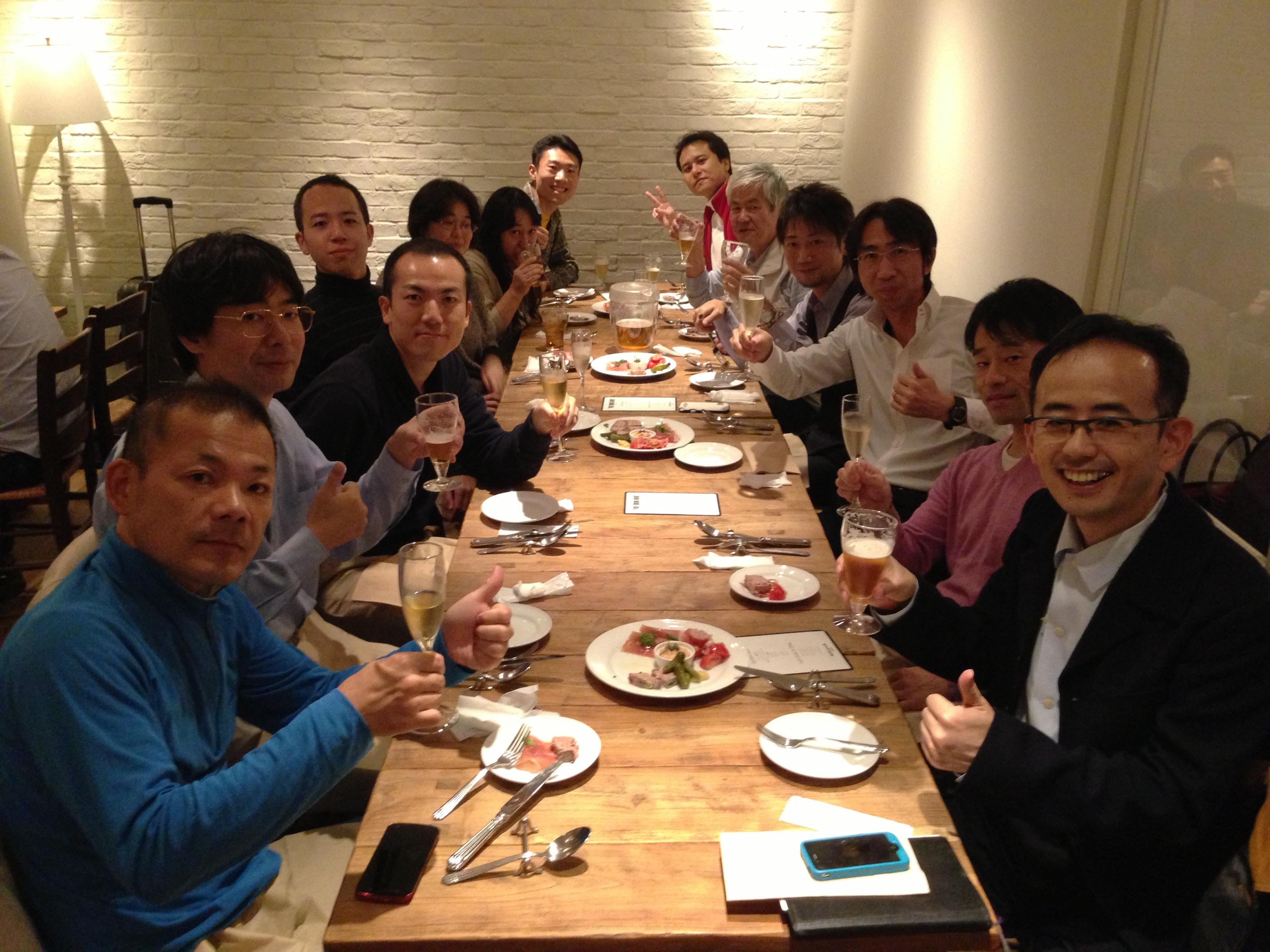 AWBM塾・第1期生の懇親会@渋谷
